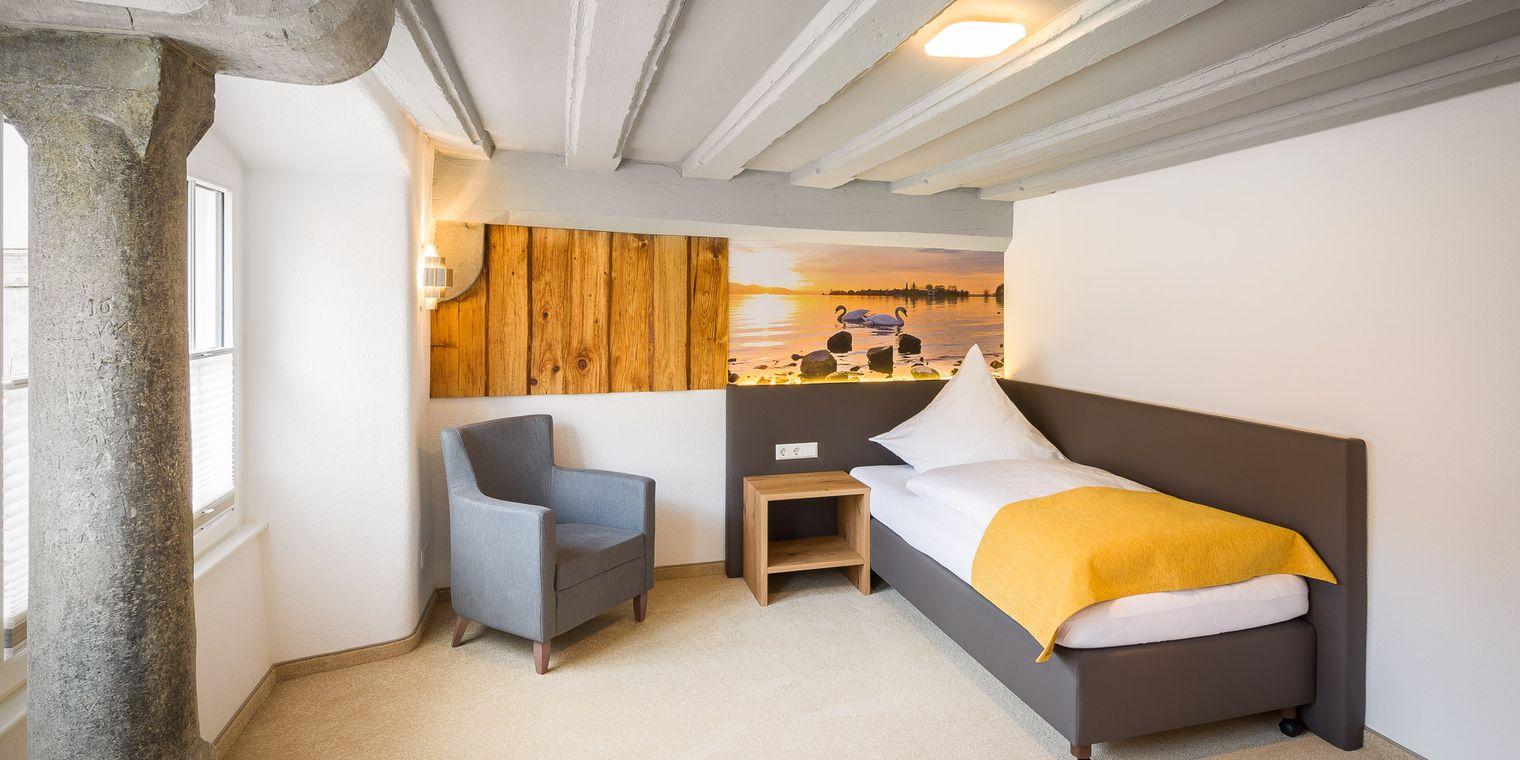 Einzelzimmer Bodensee