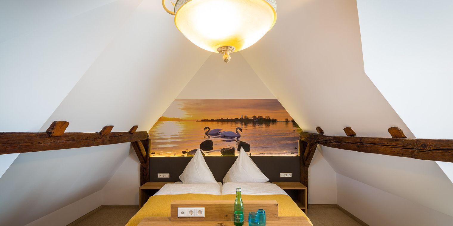 Komfort-Doppelzimmer Bodensee